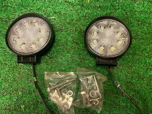 LED Worklamp 24 watt 1920 lumen 12/24 volt pack of 2