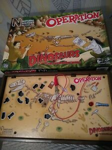 Hasbro Natural History Museum Operation Dinosaurs 100% Complete and Working