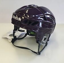 New Reebok 11K NHL/AHL Pro Stock/Retu​rn helmet medium M size ice hockey purple