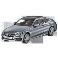 Mercedes Benz C 205 C Klasse Coupe AMG Styling Grau 1:43 Neu OVP
