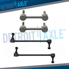 2015-2018 Ford Edge Detroit Axle 8PC Front and Rear Stabilizer Sway Bars Links and Inner Outer Tie Rod Ends for 2013 2014 2015 2016 2017 2018 Ford Fusion