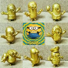 McDonalds Happy Meal Toy 2020 UK Minions Rise Of Gru GOLD Edition Toys - Various