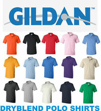 Gildan Cotton Blend Patternless T-Shirts for Men