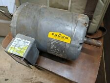 Baldor M1206T 2/.5Hp 1725/850 Rpm 460 volts three phase electric motor. Used