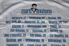Marc Anthony / TOUR T-SHIRT / USA Tour Marc Anthony.com - Large 44 - New