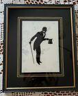 Vintage Silhouette ~ Beau Brummel ~ G.M.-1820 ~ Wooden Frame Print