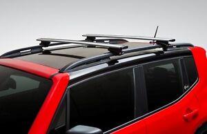 2014-2021 Jeep Cherokee &  Jeep Renegade Mopar Roof Rack Cross Bars TRAB4553