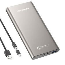 Poweradd Quick 3.0 Charge 10000mAh Power Bank Battery Portable Charger for Phone