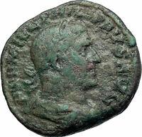 PHILIP I the ARAB Authentic Ancient 247AD Rome Sestertius Roman Coin i79730