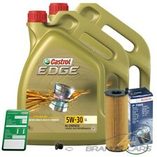 BOSCH ÖLFILTER+10L CASTROL EDGE FLUID 5W-30 LL AUDI A6 4F C6 2.7 3.0 TDI 08-
