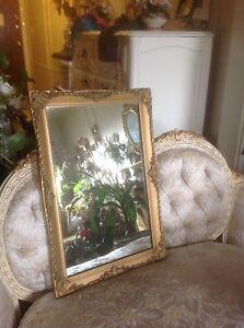 Vintage Antique Style Gold Ornate Gilt Mirror