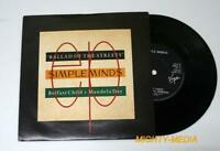"SIMPLE MINDS - BALLAD OF THE STREETS - 7"" Vinyl Record  : NR MINT (p470)"