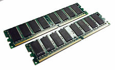 2GB 2x 1GB Dell Precision Workstation 450 450N 650 650N ECC Memory