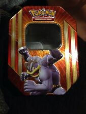 Pokemon EMPTY Machamp -EX Tin - NEW