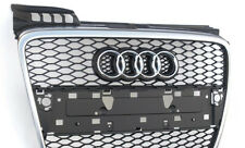 Audi A4 8E B7 RS4 S4 grill barbecue black chrome front radiator grille