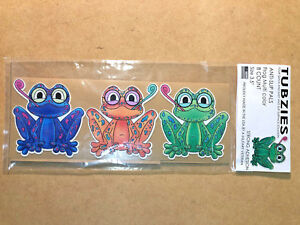 "Anti Slip Tread Decal Sticker Tape Tub Bathtub Shower Frog Kids Baby 3.5"" 8 pack"