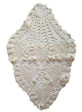 Vintage Doily Pineapple Crochet Granny Table Home Decor Chic Shabby A41