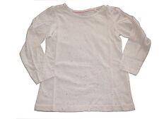 NEU Lupilu niedliches Langarm Shirt Gr. 110 / 116 weiß-bunt gesprenkelt !!