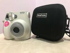 FujiFilm Instant Camera mini 7S With Black Case