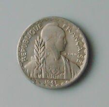monnaie asie indochine 10 centièmes de piastre 1941 1