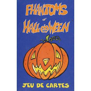 JEU DE SOCIETE PHANTOMS OF HALLOWEEN 30 CARTES ILLUSTREES