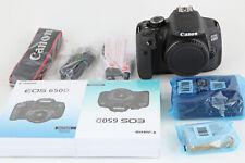 Canon EOS 650D Body, Gehäuse, wie Neu
