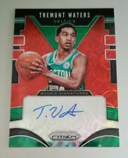 2019-20 PANINI PRIZM CHOICE TREMONT WATERS ROOKIE AUTO CELTICS SP