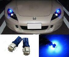 10 x 12V W5W T10 LED Blue Instrument Car Interior Parker Dash Globes Bulbs 5SMD