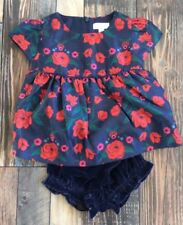 e838d65004d9 Gymboree Girls Rose Floral Flower Outfit Velvet Christmas Holiday Nwt 2t