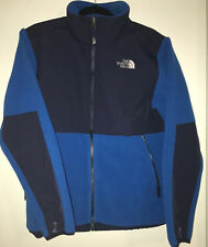 North Face Denali Jacket Fleece Turkish Sea Blue Big Boys Size XL Men Size Small