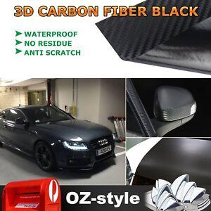 Auto Vinyl Wrap Body Door Hood Roof Film Decoration 3D Carbon Fiber DIY 1Mx1.51M