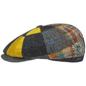 Stetson Hatteras Kelwood Patchwork Bakerboy Cap