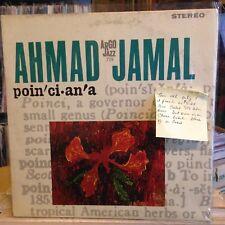 [SOUL/JAZZ]~EXC LP~AHMAD JAMAL~Poinciana~[RARE 1963~CHESS LABEL~Issue]~