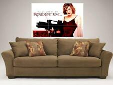 "RESIDENT EVIL MOSAIC 35BY25"" WALL POSTER MILLA JOVOVICH"