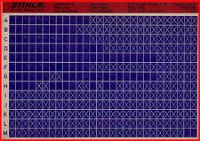 Stihl Ersatzteillisten_Partslist_Motorsägen_Microfich_Fich_4/96_E_HOS_USG_FG_NG