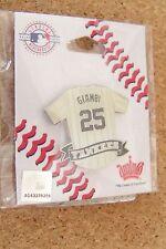 Jason Giambi NY New York Yankees jersey lapel pin Yankee Stadium only variety