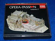 2 CD OPERA PASSION volume 2 EMI 1987 agnes baltsa NICOLAÏ GHIAUROV gedda CORELLI