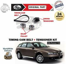 FOR ALFA ROMEO 156 GTA 3.2i 24V V6 2001-2005 GATES CAM TIMING BELT TENSIONER KIT