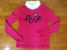American Girl Doll Grace City Outfit Red Sweater L 14 16 for Girls
