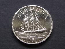 New listing Bermuda. Edward Viii (1936) - Fantasy Crown. Silver, Prooflike Bu