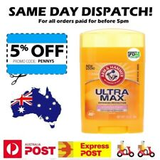 Arm & Hammer UltraMax - 48 Hour Natural Antiperspirant Deodorant Men And Women