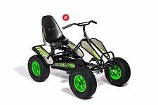 GERMAN DINO Quad per Bambini Adulti GO KART a pedali-Nero Verde a pedali X-Quad