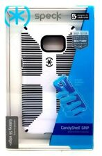Speck Candy Shell Funda Cubierta De Agarre Para Samsung Galaxy S6 Edge Plus Blanco Negro