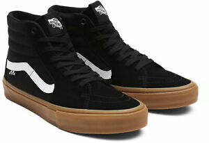 VANS Sneaker Schuhe SK8-HI SKATE Schuh 2021 black/gum Freizeit Sportschuhe