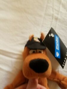 """Scooby Doo 9"""" Pizza Delivery Plush Bean Bag Warner Bros Studio Store 1998 NWT"""