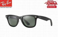 RayBan Wayfarer Classic Black Sunglasses G-15 Lens RB2140 901 54mm Ray-Ban