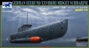 Bronco 1/35 CB35053 Seehund XXVIIB/B5 Midget Submarine