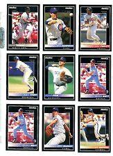 1992 Pinnacle Baseball Key Cards Your Choice, NM/M