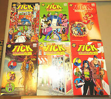 The Tick Heroes Of The City 1 2 3 4 5 6 Set Of Comics Nec Fun Red Eye