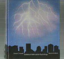 STATISTICAL METHODS FOR PSYCHOLOGY by David Howell 1991 2nd Edition Hc Technique